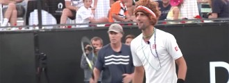 Novak Djokovic is always entertaining. Watch this funny Djokovic mash up.