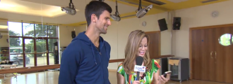 Novak Djokovic Tests His Acting Skills With An Improv Game