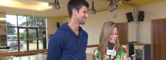 Novak Djokovic Plays an Acting Improv Game… He's Got Skills!