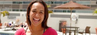 Heather Watson's Favorite Things in America: Burgers, Mocha and Vampires!