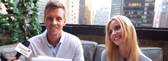 Tomas & Ester Berdych Play the Newlywed Game and Prove They Are the Perfect Match