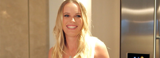 Caroline Wozniacki Has a Sweet Tooth and Loves to Bake But Guess What's In Her Fridge!