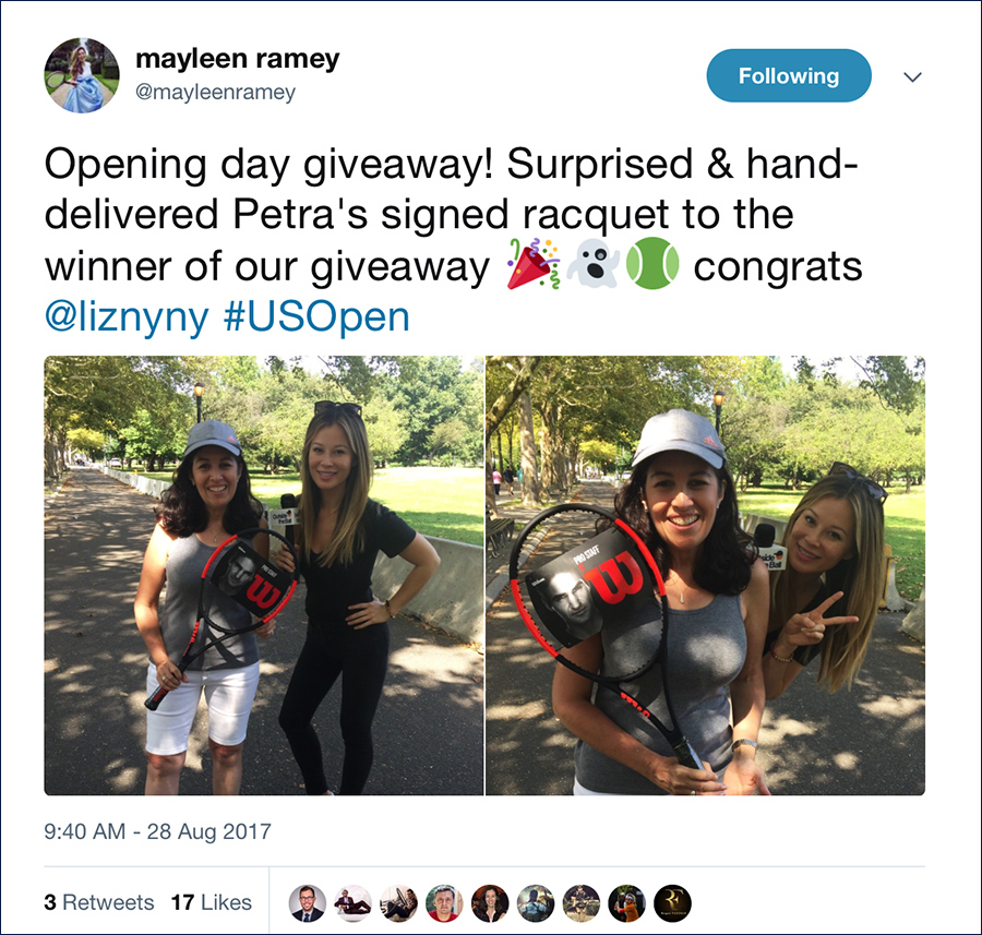 mayleen-with-petra-giveaway-winner