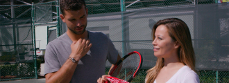 Grigor Dimitrov Plays Target Practice Blindfolded