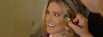 Genie Bouchard Gets Glammed Up for a Special Night Out