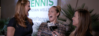 Lucie Safarova and Bethanie Mattek-Sands Take the BFF Perfect Match Quiz at Taste of Tennis