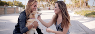 Monica Puig Celebrates Olympic Anniversary with her Dog, Rio