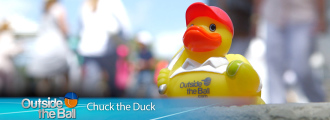 Get to Know (and Win) Everyone's Favorite Tennis Mascot, Chuck the Duck