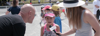 Fondation LACOSTE & Tennis Pros Inspire Kids Through Tennis