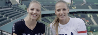 Sister Sister Q&A with the Pliskova Twins