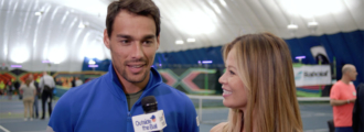 Fabio Fognini Entertains With His Wild Side