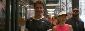 Hitting the Court in New York City with ASICS and Patrick Mouratoglou