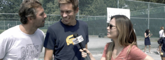 Funny Off-Court Moments with French Tennis Stars & Lacoste